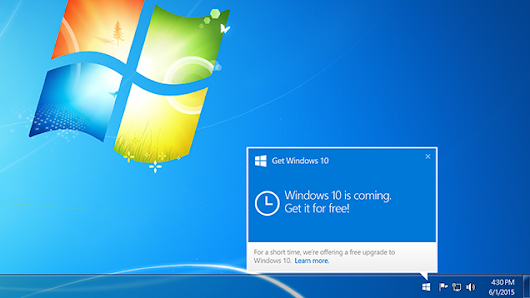 Windows 10 Will Be Released July 29th, Reserve Your Free Copy Now