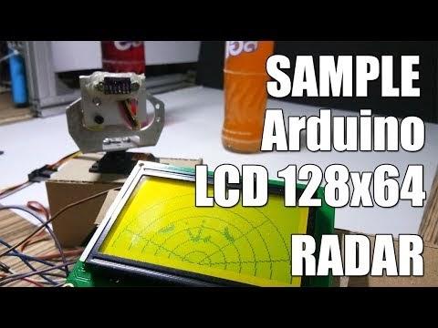 Arduino sample Radar with VL53L0X Time of Flight Distance Sensor