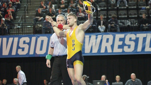 Cody Law Named NWCA Super Region I Wrestler of the Year - University of Pittsburgh Johnstown