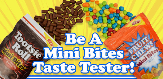 Become a Mini Bites Taste Tester!
