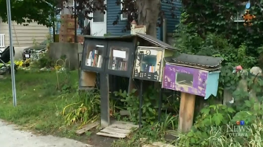Ottawa woman's little free library to be shut down over city bylaw