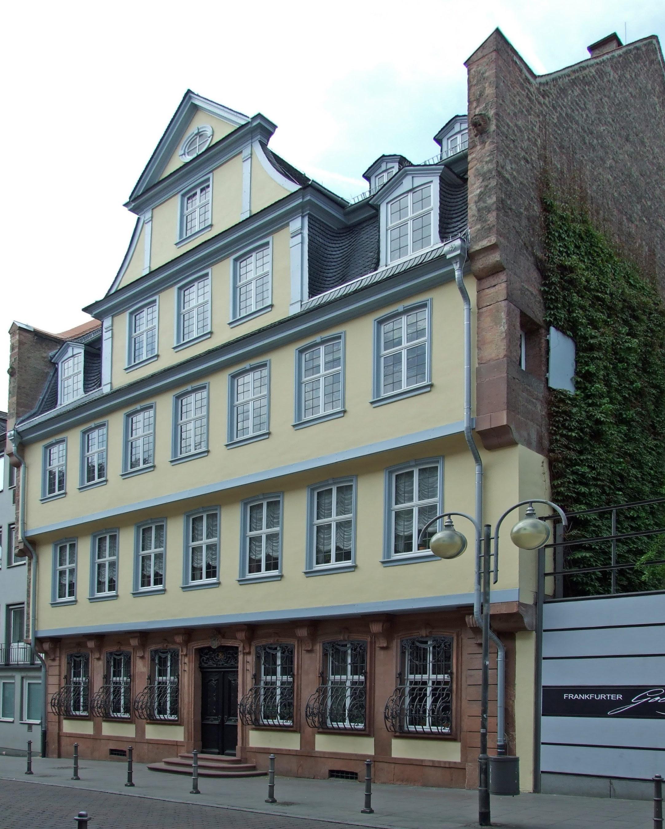 Goethe House in Frankfurt am Main