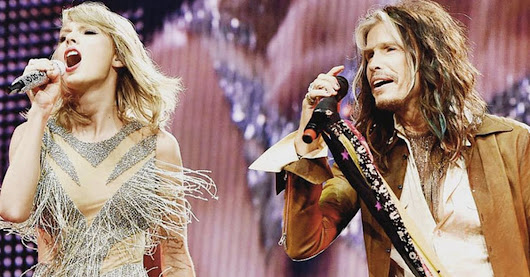 Taylor Swift and Steven Tyler perform 'I Don't Wanna Miss a Thing' [VIDEO]