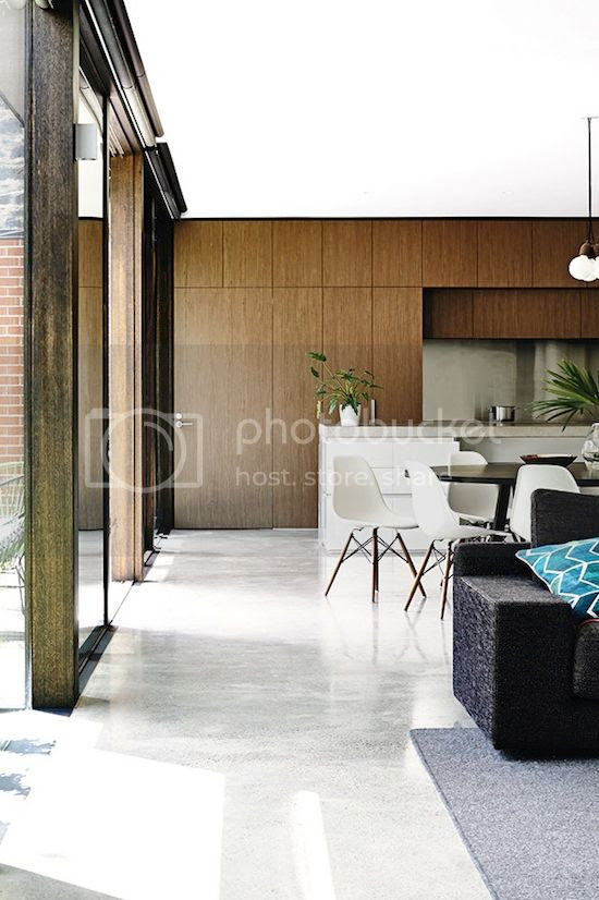 ETC INSPIRATION BLOG LIGHT MODERN MELBOURNE AUSTRALIA HOME MID CENTURY MODERN WOOD CABINETS KITCHEN WHITE DINING CHAIRS EAMES 3 photo ETCINSPIRATIONBLOGLIGHTMODERNMELBOURNEAUSTRALIAHOME3.jpg