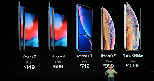 Apple Unveils Bigger iPhones at Higher Prices, and a Heart-Tracking Watch