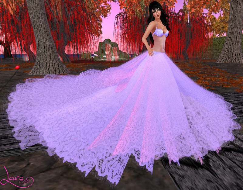 Just Darling - Bella Love Gown Light Purple - Midnight Mania