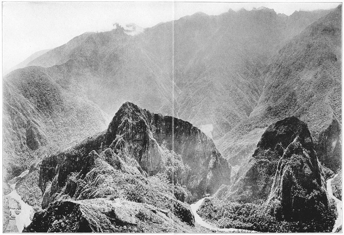 The Gorges, Opening Wide Apart, Reveal Uilcapampa's Granite Citadel, the Crown of Inca Land: Machu Picchu