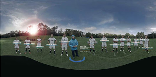 Experience life as an England rugby player with an Oculus Rift, nine GoPros and zero bruises