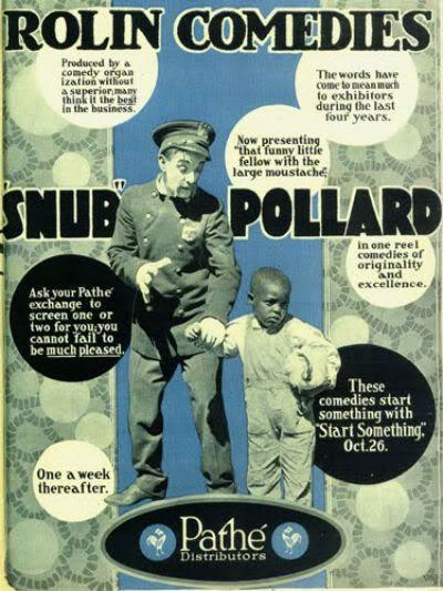 Snub Pollard comedies ad