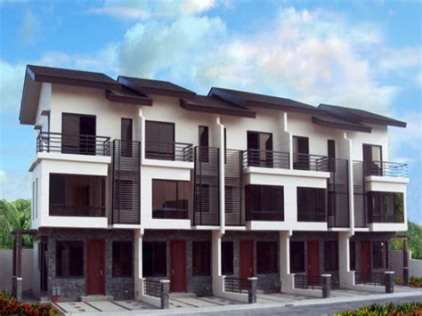 latest house design  philippines modern townhouse design