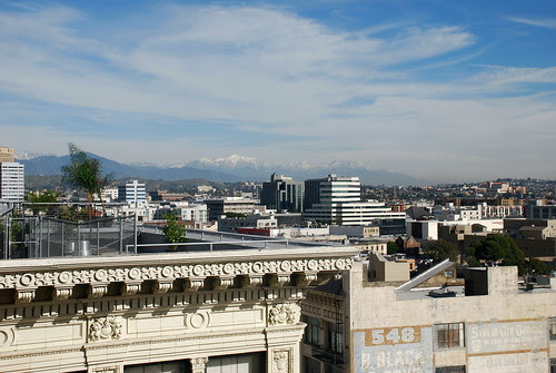 View from Pacific Electric Building