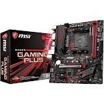 MSI B450M Gaming Plus AMD mATX AM4 Motherboard - Black