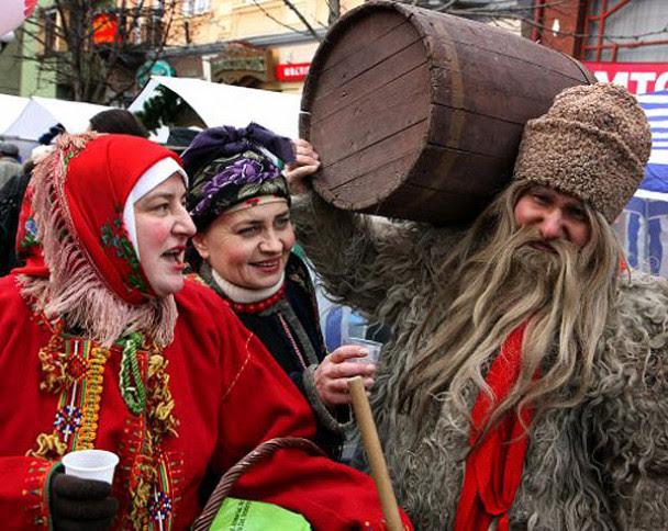 вертеп на фестивалі в Мукачево