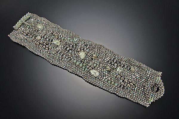 Jade Sculptural Cuff