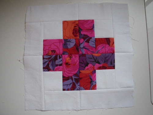 Modern Crosses Quilt Block