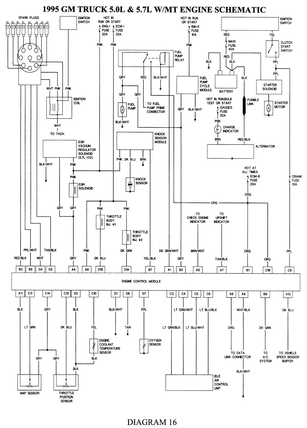 Chevrolet 350 Engine Diagram