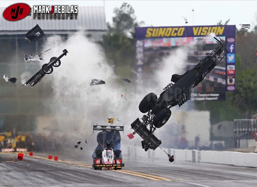 Mark Rebilas Captured The Greatest Crash Sequence In Drag Racing History: The Larry Dixon Disaster Frame By Frame