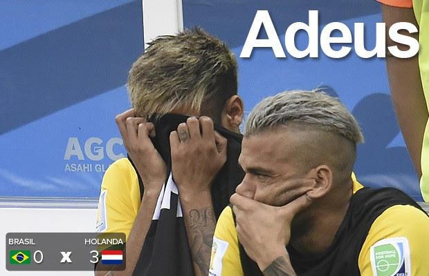 Brasil se despede da Copa com derrota (AFP)