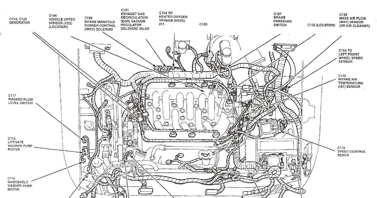2000 Ford Explorer Exhaust System Diagram