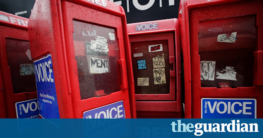 The Village Voice will silence its print edition after 62 years | Media | The Guardian