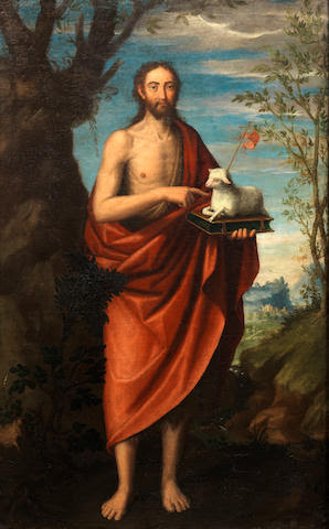 Follower of Juan Sánchez Cotán (Orgaz 1560-1627 Granada) Saint John the Baptist