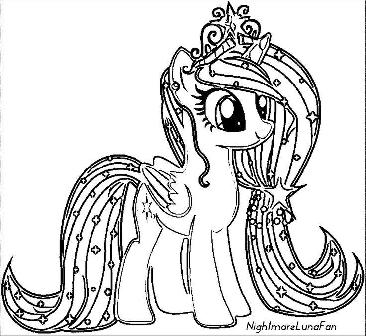 Boyama Oyunlary Pony Resim Cizmek