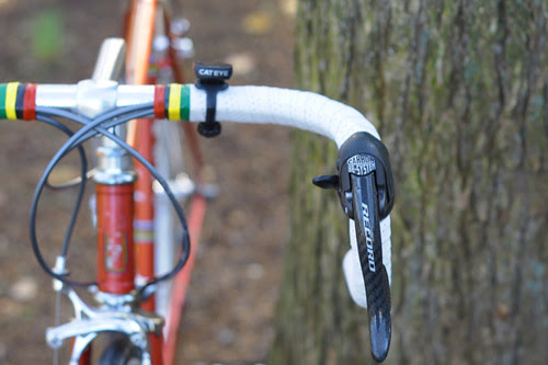Moser, Noodles, Campagnolo Record 9 Speed Levers