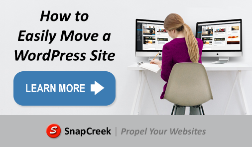 How to Easily Move a WordPress Site - Snap Creek Software