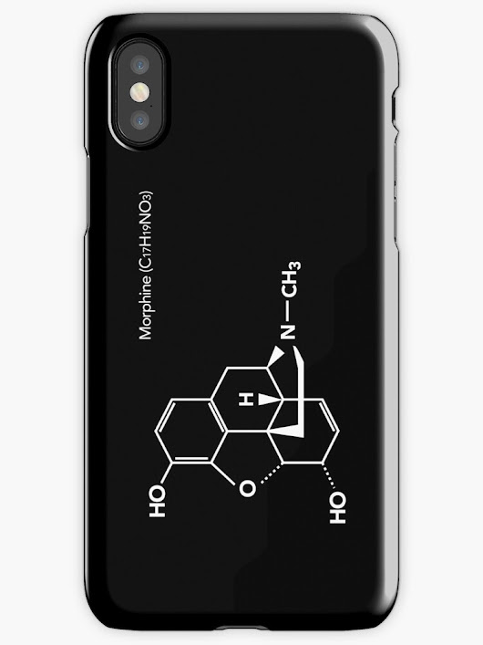 'Morphine' iPhone Case/Skin by iopan