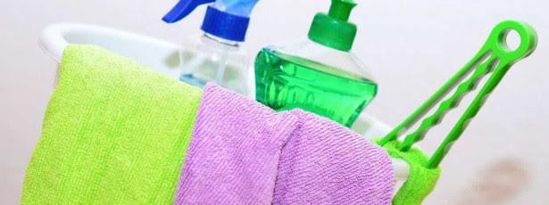 Produtos de limpeza que você deve começar a usar menos