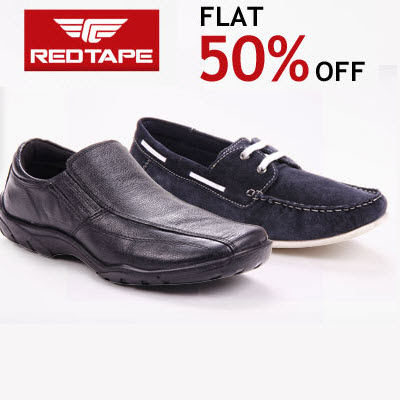 Redtape Footwears upto 40% + Extra 30% off :: DealsHunger.com