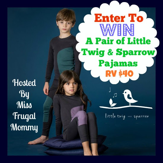 Little Twig & Sparrow Pajama Giveaway