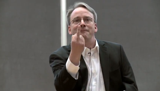Linus Torvalds defends his right to shame Linux kernel developers