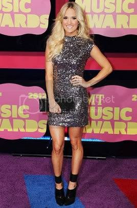 CMT Music Awards 2012 Red Carpet Fashion