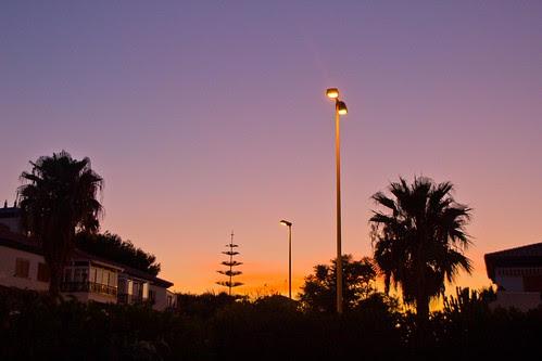 Un anochecer lleno de luz y esperanza