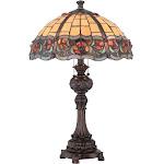 Lite Source C41341 Deana 2 Light Table Lamp Dark Bronze