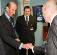 HRH Duke of Kent, Grand Master, United Grand Lodge of England, Masonic, Secret Handshake, Freemasons, Freemasonry, Freemason