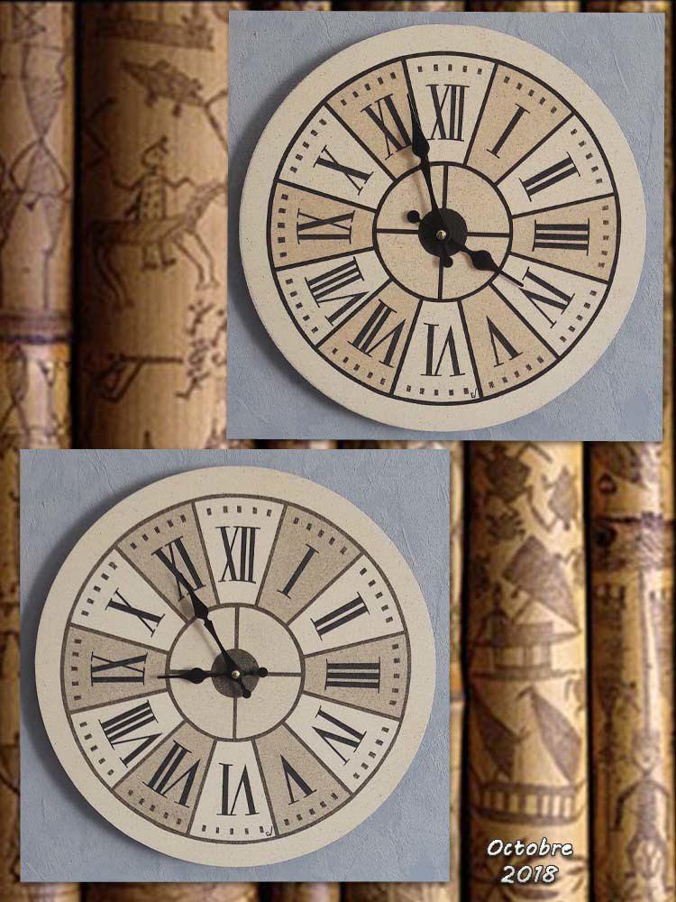 Horloge Murale Originale Tableaux En Sables