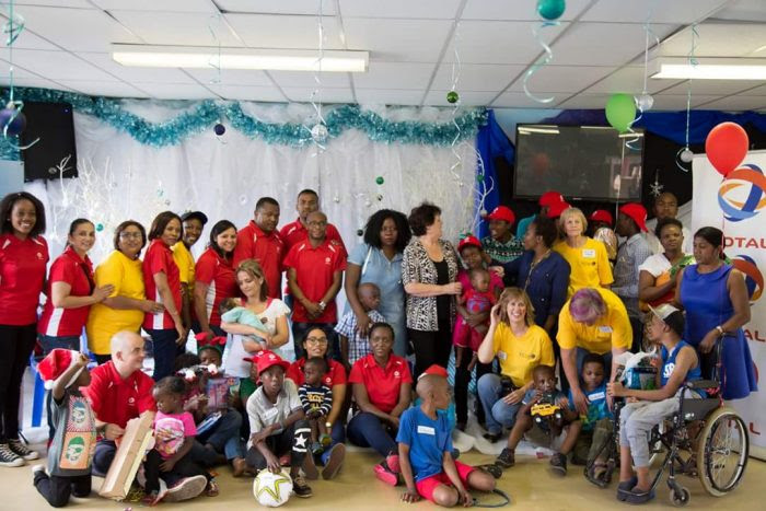 Total South Africa Put Smiles On Vulnerable Children This Festive