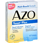 AZO Yeast Plus Multi-Benefit Formula Tablets - 60 count
