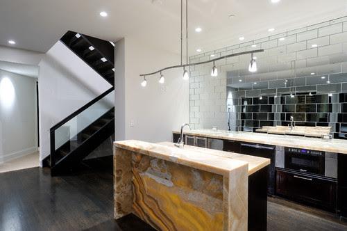 Bar modern kitchen