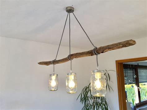 homemade lampe  branch selbstgemachte esstischlampe