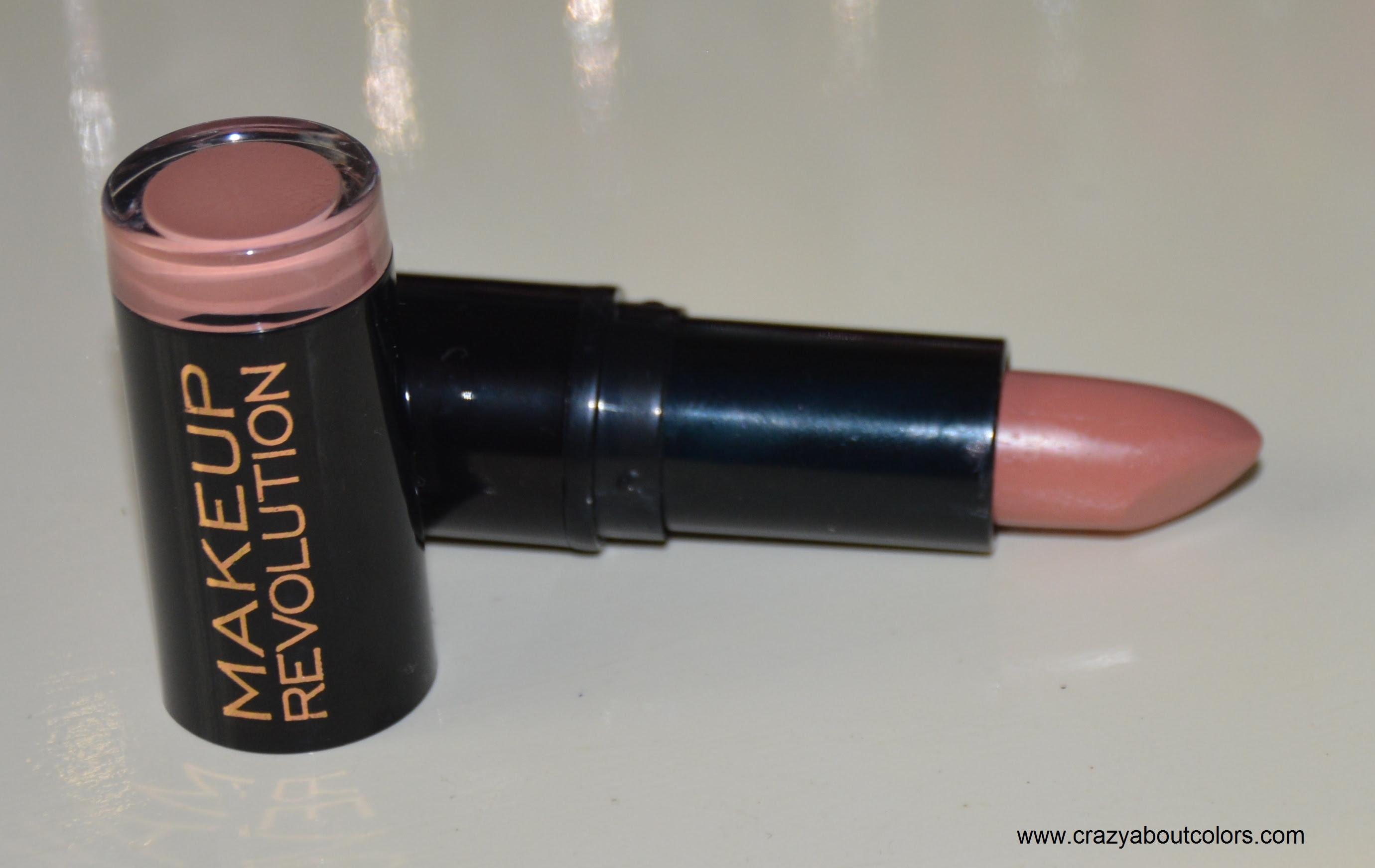 Makeup revolution amazing lipstick swatches