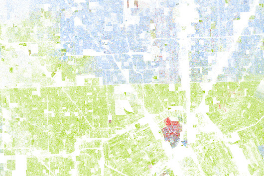 The Best Map Ever Made of America's Racial Segregation | Design | WIRED