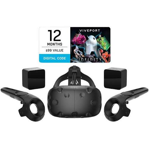 HTC VIVE - 3D Virtual reality headset - Portable