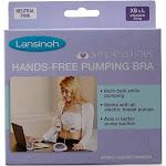 Lansinoh Simple Wishes Hands-Free Pumping Bra, Pink, XS/L
