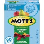 Mott's Medley Assorted Fruit Flavored Snacks (90 Count)