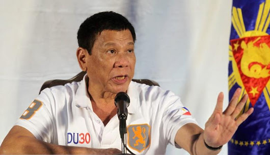 Philippines' Duterte says 'plenty will be killed' in his anti-drugs drive