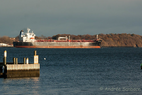 Oil Tanker Leaves New Haven Harbor -3.jpg