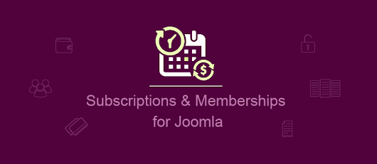 Subscriptions and Memberships plugin for Joomla